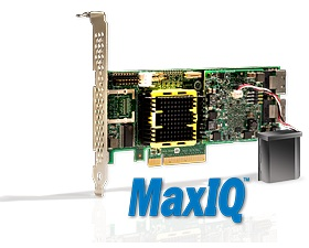 Adaptec MaxIQ Storage Controllers with SSD Caching