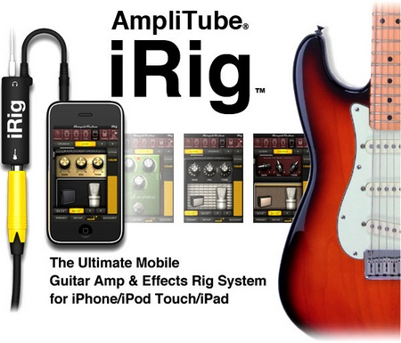 AmpliTube iRig Mobile Effects Rig System for iPhone iPod touch iPad