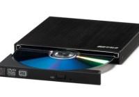 Buffalo DVSM-PSS58U2-BK Smallest External DVD Burner