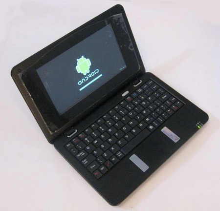 CherryPal Asia C117 Netbook run Android