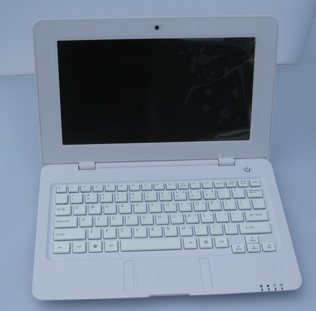 CherryPal Asia C118 Netbook run Android