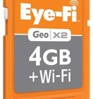 Eye-Fi Geo X2 4GB WiFi SDHC Card