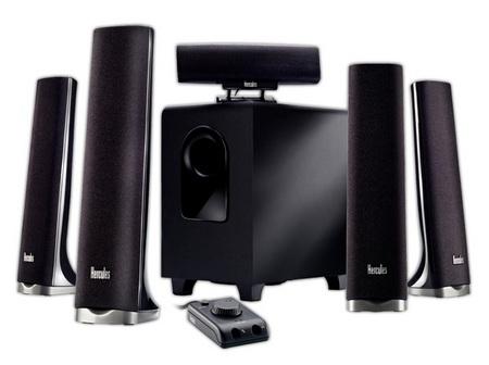 Hercules XPS 5.1 70 Slim 5.1 Speaker System