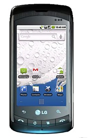 LG Ally QWERTY Smartphone runs Android 2.1