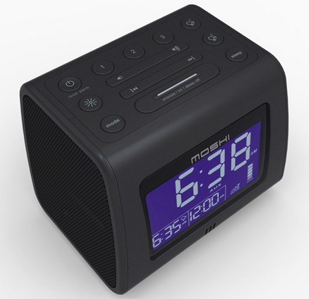 Moshi Voice Control Digital Clock Radio top