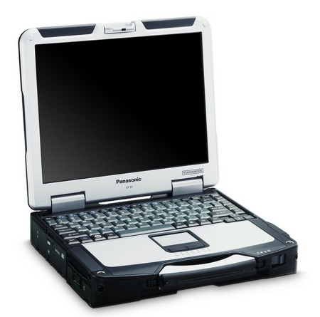 Panasonic Toughbook CF-31 Fully-Rugged Notebook open right