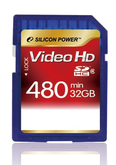 Silicon Power Full HD Video Card SDHC
