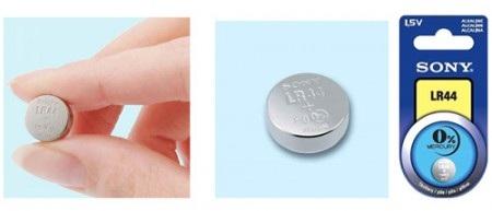 Sony Mercury-Free Alkaline LR44 Mini Battery