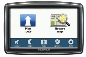 TomTom XL 350 and XXL 550 GPS Devices