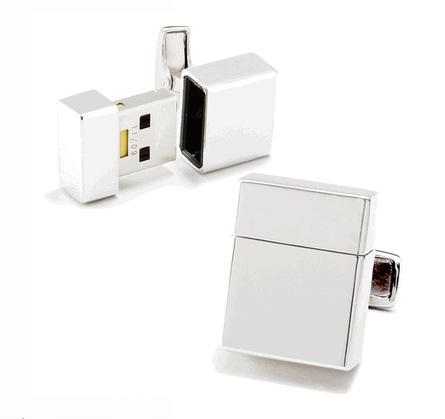USB Flash Drive Cufflinks