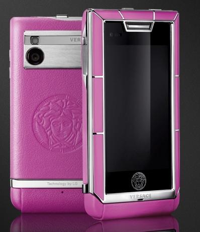 Versace Unique Luxury Phone pink