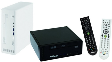 ASRock Core 100HT and 100HT-BD Mini PCs with Core i7, USB 3.0, THX sound