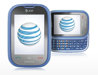 AT&T Pantech Pursuit touchscreen qwerty phone
