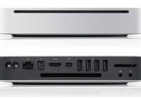 Apple Mac mini gets a all-new Unibody Design front back