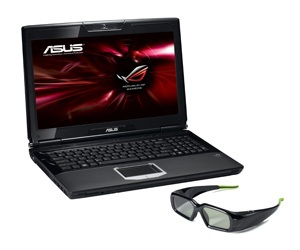 Asus ROG 3D notebook