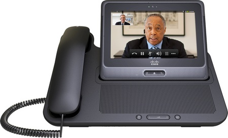 Cisco Cius Android Business Tablet is HD Video Capable docked