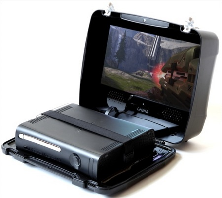 GAEMS Suitcase makes Xbox 360 Portable