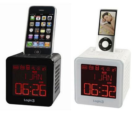 Logic3 i-Station TimeCube iPhone IPod Clock Radio