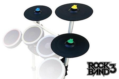 Mad Catz Rock Band 3 Wireless PRO-Cymbals Expansion Kit