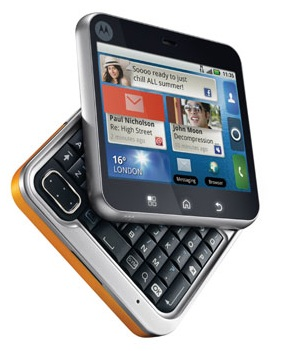 Motorola FLIPOUT Android Phone with MOTOBLUR