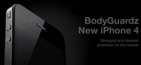 NLU Products BodyGuardz Dry Apply for iPhone 4