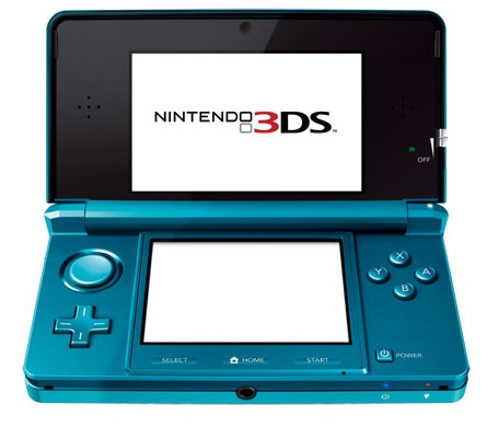Nintendo 3DS Glasses-Free 3D Gaming System blue