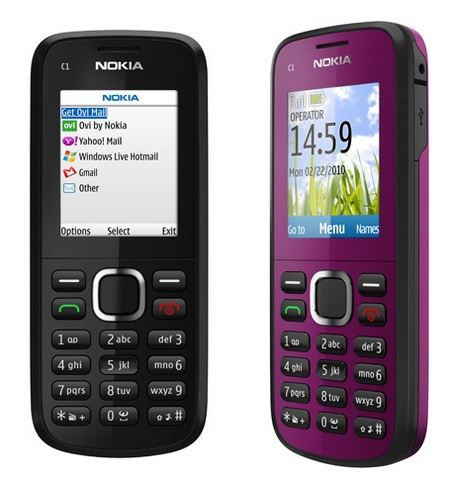 Nokia C1-02 Entry-Level Mobile Phone