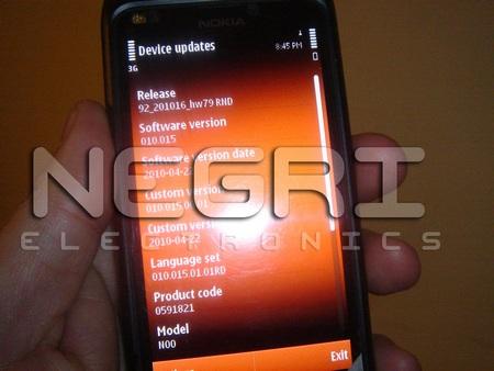 Nokia N9 Leaked Shots screen