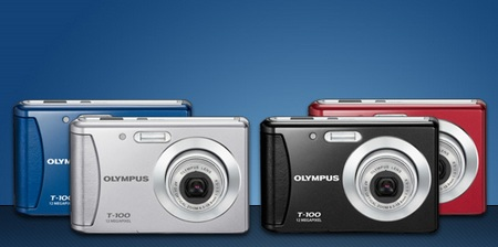 Olympus T100 Entry-level Digital Camera