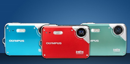 Olympus X-560WP waterproof camera