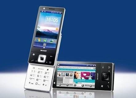 Sharp SH80iUC and SH81iUC WM6.5 Smartphones for China