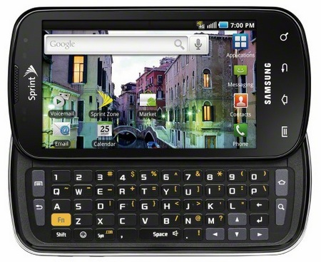 Sprint Samsung Epic 4G Smartphone with QWERTY Keyboard