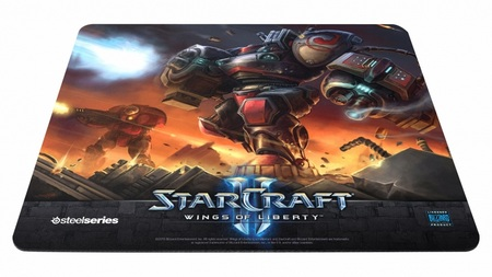 SteelSeries QcK Limited Edition StarCraft II Marauder mouse pad