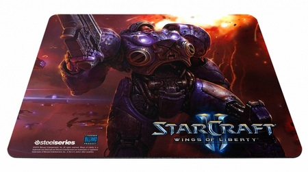 SteelSeries QcK Limited Edition StarCraft II Tychus Findlay mouse pad