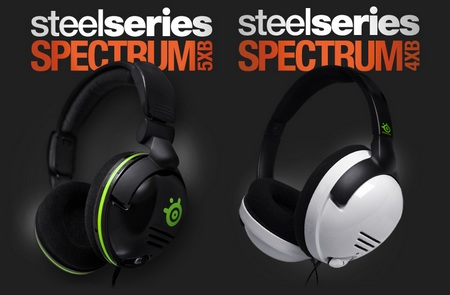 SteelSeries Spectrum 5xb and 4xb Headsets for Xbox 360