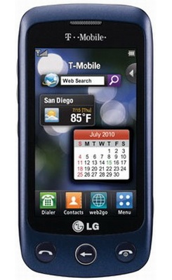 T-Mobile LG Sentio touchscreen phone