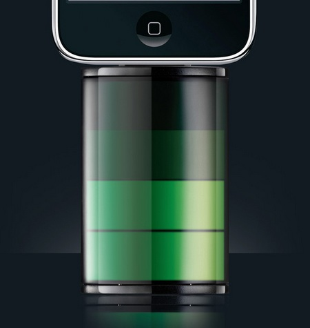 essential tpe The Icon iPhone Battery Pack just look like iPhone's battery icon 1