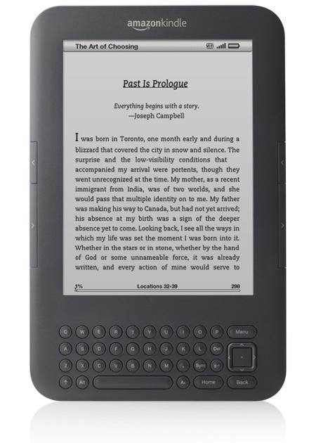 Amazon Kindle 3G+WiFi e-book reader Graphite