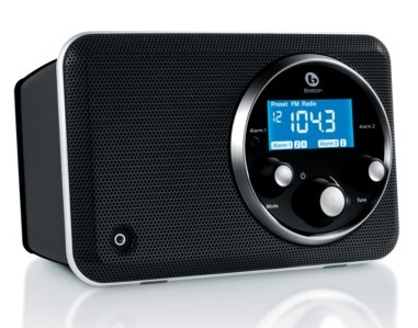 Boston Acoustics Solo II AM FM Radio black