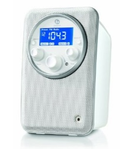 Boston Acoustics Solo II AM FM Radio white