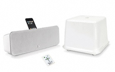 Boston Acoustics i-DS3 plus iPhone iPod Speaker System white