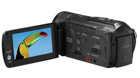 Canon VIXIA HF M32 Full HD Camcorder open