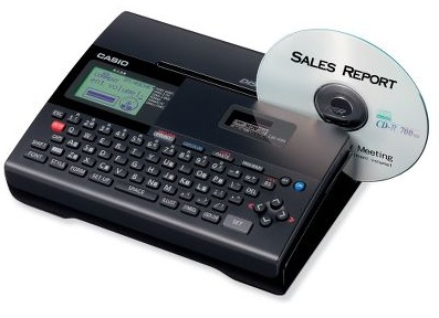 Casio CD DVD Title Thermal Printer