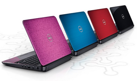 Dell Inspiron M101z Notebook Launched in the UK colors