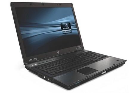 HP EliteBook 8740w Mobile Workstation getting NVIDIA Quadro 5000M.