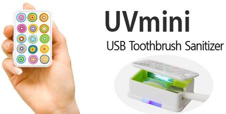 HVK UVmin USB Toothbrush Sanitizer