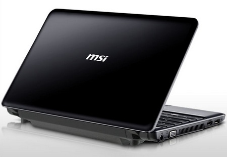MSI Wind12 U230 Light Netbook with 11.6-inch Screen