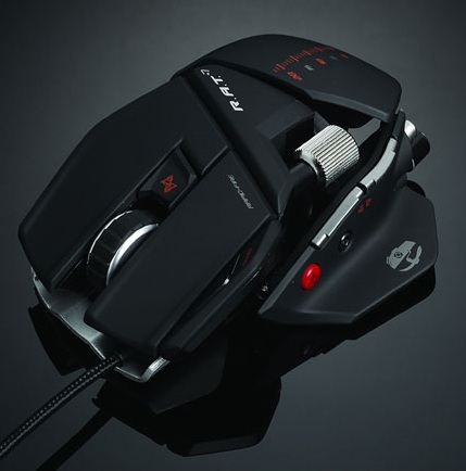 Mad Catz Cyborg R.A.T. 7 Gaming Mouse angle