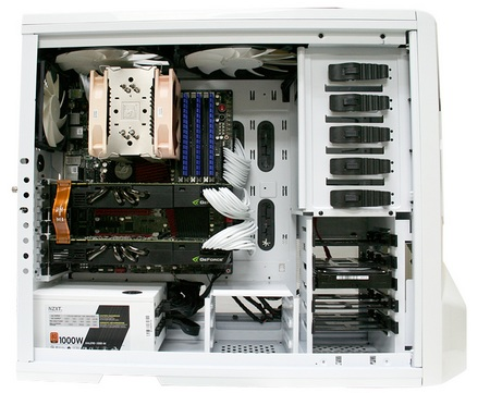 NZXT Phantom Full Tower Chassis inside