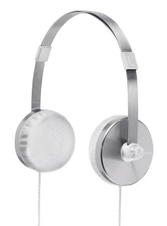 Nixon Apollo Headphones silver white